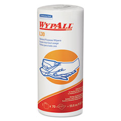 WypAll® L30 Towels, 11 x 10.4, White