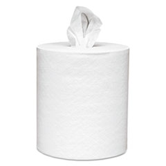 Scott® Essential Roll Control Center-Pull Towels,  8 x 12, White, 700/Roll, 6 Rolls/CT