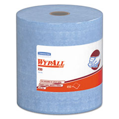 WypAll® X90 Cloths, Jumbo Roll, 11 1/10 x 13 2/5, Denim Blue, 450/Roll, 1 Roll/Carton