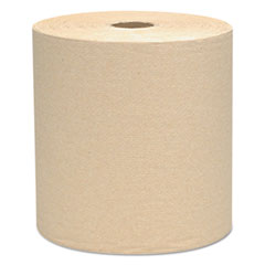 "Scott® Essential Hard Roll Towels, 1.5"" Core, 8 x 800ft, Natural, 12 Rolls/Carton"
