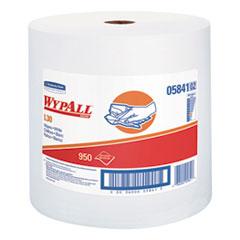 WypAll® L30 Towels, 12 2/5 x 13 3/10, White, 950 per Roll