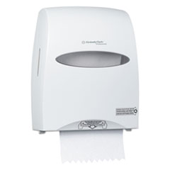 Kimberly-Clark Professional* Sanitouch Hard Roll Towel Dispenser, 12.63 x 10.2 x 16.13, White