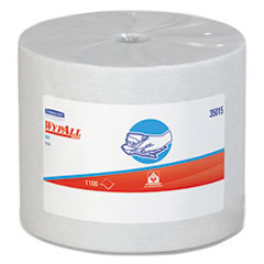 WypAll® X50 Cloths, Jumbo Roll, 9 4/5 x 13 2/5, White, 1100/Roll