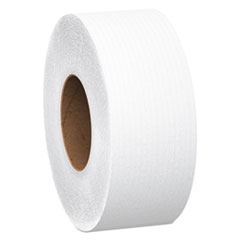 Scott® Essential 100% Recycled Fiber JRT Bathroom Tissue, Septic Safe, 2-Ply, White, 1000 ft, 12 Rolls/Carton