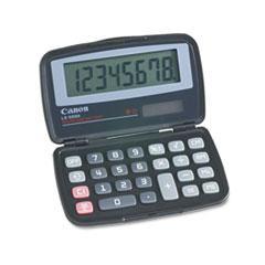 Canon® LS555H Handheld Foldable Pocket Calculator, 8-Digit LCD