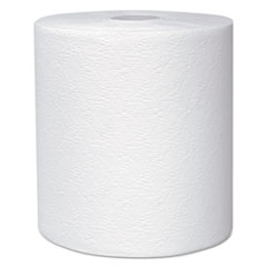 "Scott® Essential Plus Hard Roll Towels 8"" x 600 ft, 1 3/4"" Core dia, White, 6 Rolls/CT"