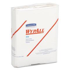 WypAll® X50 Cloths, 1/4 Fold, 10 x 12 1/2, White, 26/Pack, 32 Packs/Carton