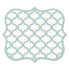 Designer Mouse Pads, Lattice, 9 x 8 x 3/16