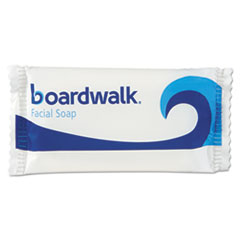 Boardwalk® Face and Body Soap, Flow Wrapped, Floral Fragrance, .75oz Bar, 1000/Carton BWKNO34SOAP