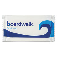 Boardwalk® Face and Body Soap, Flow Wrapped, Floral Fragrance, .5oz Bar, 1000/Carton BWKNO12SOAP