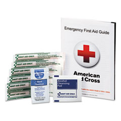 First Aid Only™ First Aid Guide w/Supplies, 9 Pieces