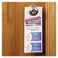 Avery® Door Hanger with Tear-Away Cards Thumbnail