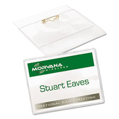 Avery® Name Badge Holders Kit with Inserts Thumbnail