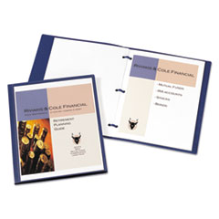 Avery® Lay Flat View Report Cover with Flexible Fastener Thumbnail