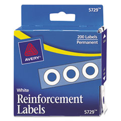 Avery® Binder Hole Reinforcements in Dispenser Thumbnail