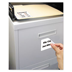 Avery® Removable Rectangle Durable Labels with TrueBlock® Technology Thumbnail