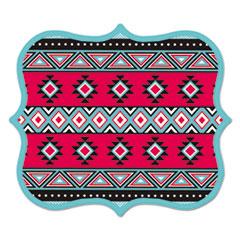 Designer Mouse Pads, Tribal Print, 9 x 8 x 3/16