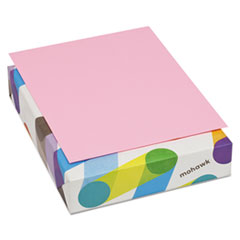 Mohawk BriteHue Multipurpose Colored Paper, 20lb, 8 1/2 x 11, Ultra Pink, 500 Sheets