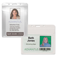 Advantus® PVC-Free Badge Holders Thumbnail