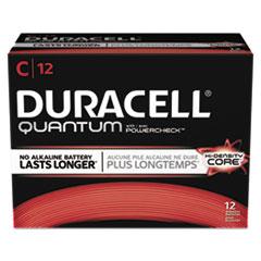 Duracell® Quantum Alkaline Batteries, C, 72/CT