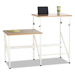 Safco® Bi-Level Standing Height Desk