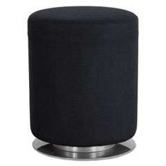 "Safco® Swivel Keg Seating, 16 1/2"" Diameter x 21"" High, Black SAF5050BL"