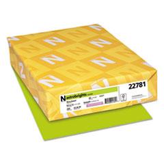 Astrobrights® Color Cardstock, 65 lb, 8.5 x 11, Terra Green, 250/Pack