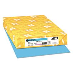 Astrobrights® Color Paper, 24 lb, 11 x 17, Lunar Blue, 500/Ream
