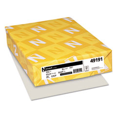 Neenah Paper Exact Index Card Stock, 90lb, 8.5 x 11, Gray, 250/Pack