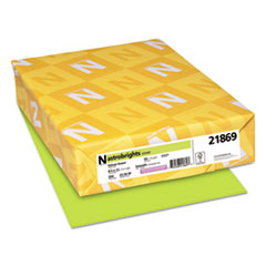 Astrobrights® Color Cardstock, 65 lb, 8.5 x 11, Vulcan Green, 250/Pack