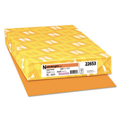Astrobrights® Color Paper, 24 lb, 11 x 17, Cosmic Orange, 500/Ream