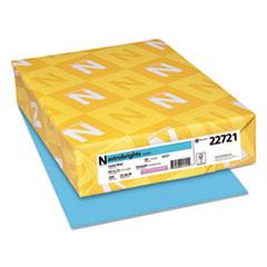Astrobrights® Color Cardstock, 65 lb, 8.5 x 11, Lunar Blue, 250/Pack