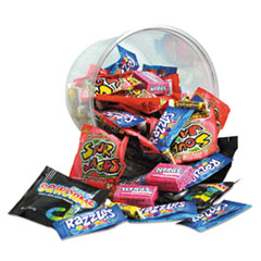 Office Snax® Candy Tubs, Generations Mix, Individually Wrapped, 16 oz Resealable Plastic Tub