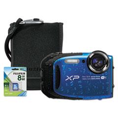 Fuji® XP90 Digital Camera Bundle, 16 MP, Tracking Auto Focus, Black FUJ600016114