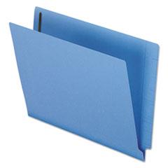 PFXH10U13BL - Reinforced End Tab Expansion Folder, Two Fasteners, Letter, Blue, 50/Box