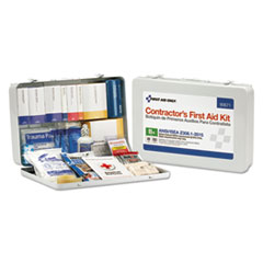 First Aid Only™ Contractor ANSI Class B First Aid Kit for 50 People, 254 Pieces