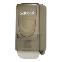 Softsoap® Plastic Liquid Soap Dispenser, 800mL, 5.4w x 4 1/2d x 10.9h, Smoke CPC01946CT