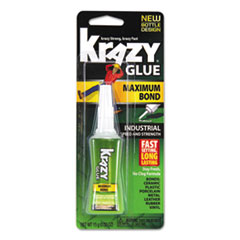 Maximum Bond Krazy Glue, 0.52 oz, Dries Clear