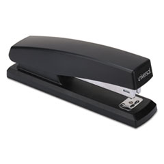 Universal® Economy Full-Strip Stapler, 20-Sheet Capacity, Black