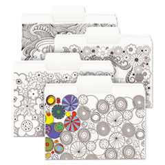 Smead® SuperTab® Coloring File Folders Thumbnail