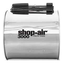 "Shop-Air® Wall Mount Blower, 16"", Stainless Steel, 3-Speed, 1/2 HP Motor"