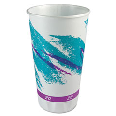 SOLO® Cup Company Trophy® Plus™ Dual Temperature Insulated Cups in Jazz® Design Thumbnail