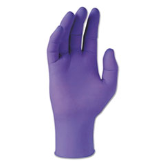 Kimtech™ PURPLE NITRILE Exam Gloves, 242 mm Length, X-Small, 6 mil, Purple, 100/Box