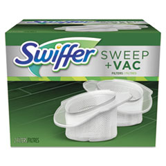 Swiffer® Sweeper Vac Replacement Filter, OEM, 2 Filters/Pack, 8 Packs/Carton