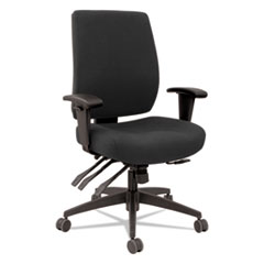 Alera® Wrigley Series 24/7 High Performance Mid-Back Multifunction Task Chair