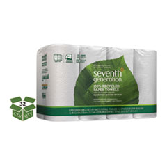 100 Recycled Paper Towel Rolls 2 Ply 11 x 54 Sheets 156 SheetsRL