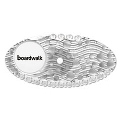Boardwalk® Curve Air Freshener, Mango, Clear, 10/Box BWKCURVEMAN