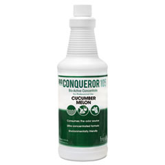Fresh Products Bio Conqueror 105 Enzymatic Odor Counteractant Concentrate, Cucumber Melon, 1 qt, 12/Carton