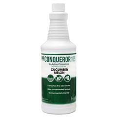 Fresh Products Bio Conqueror 105 Enzymatic Odor Counteractant Concentrate, Cucumber Melon, 1 qt Bottle, 12/Carton