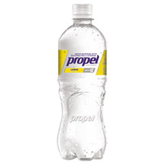 Propel Fitness Water™ Flavored Water, Lemon, Bottle, 500mL, 24/Carton